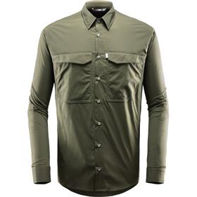 Haglöfs Salo Longsleeve Shirt Heren, deep woods